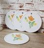 Disha Floral Plastic Placemat - Set of 4