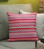 Multicolour Cotton 16 x 16 Inch Fusion Cushion Cover by Diwa Home