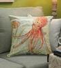 Multicolour Cotton 18 x 18 Inch Octopus Cushion Cover by Diwa Home