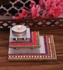 Largessee Multicolour Acrylic Diwali Square T Light