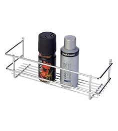 Doyours Glossy Stainless Steel 11 8 Inch Bathroom Shelf