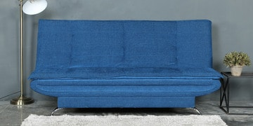 Dolphin Sofa Cum Bed In Blue Colour