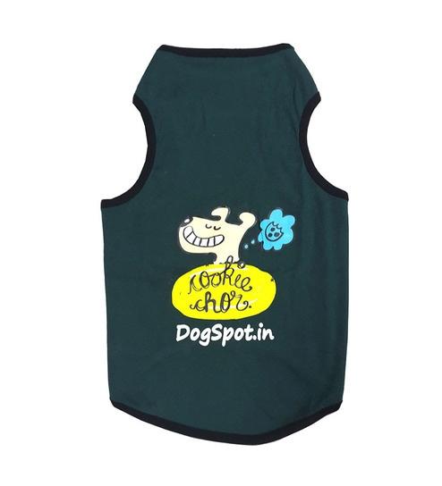 a48b984d15b Buy Dogspot Dark Green Cookie Chor T-shirt - Size 24 Online ...
