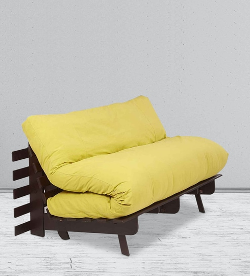 Double Futon Sofa Bed With Mattress