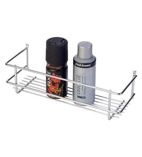 Buy Doyours Silver Stainless Steel Bathroom Shelf Online - Bathroom ...