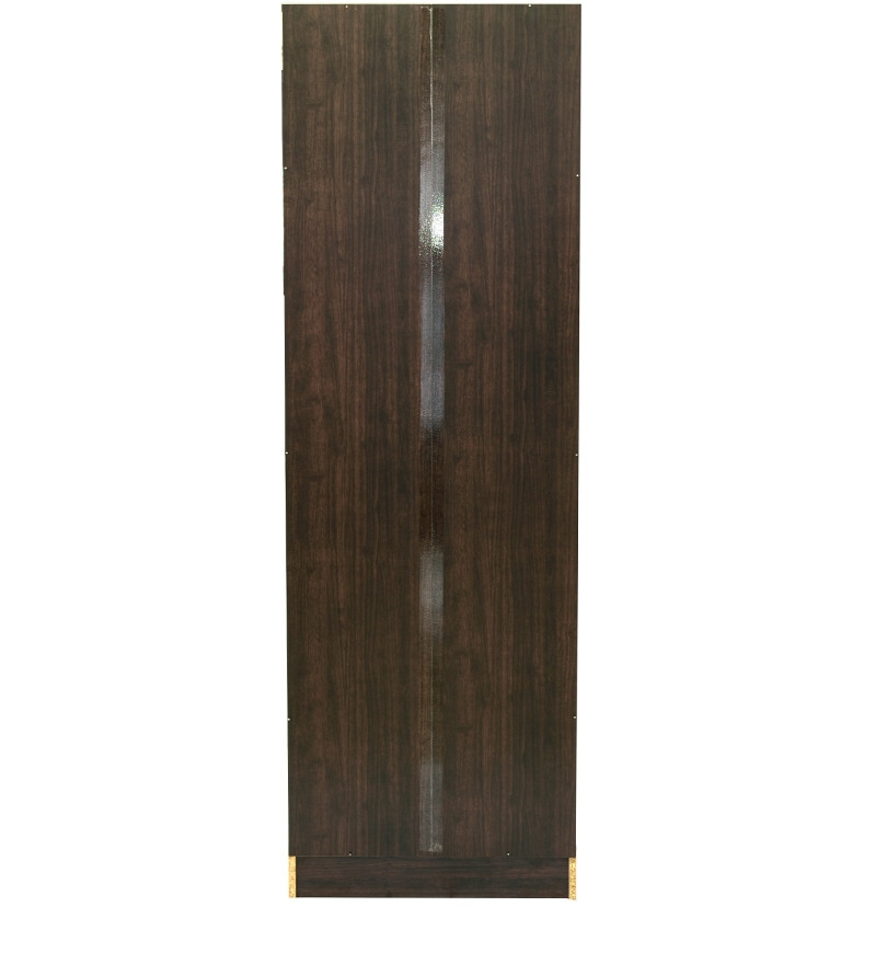 Buy Takuma Two Door Wardrobe In Wenge Finish By Mintwud