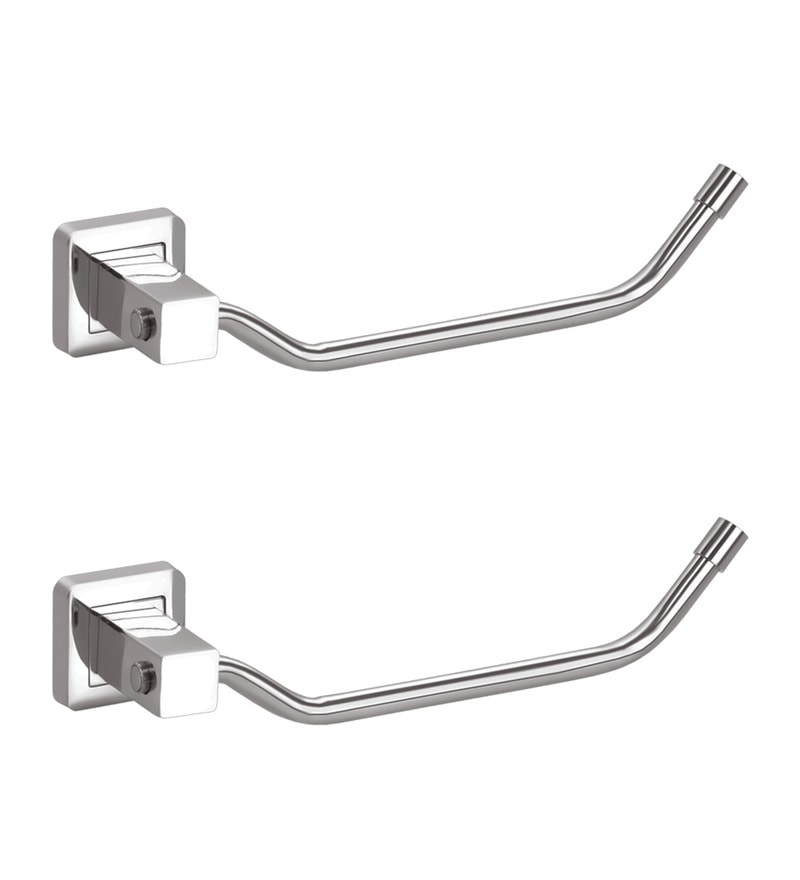 Doyours Glossy Stainless Steel 9 Inch Towel Ring Set