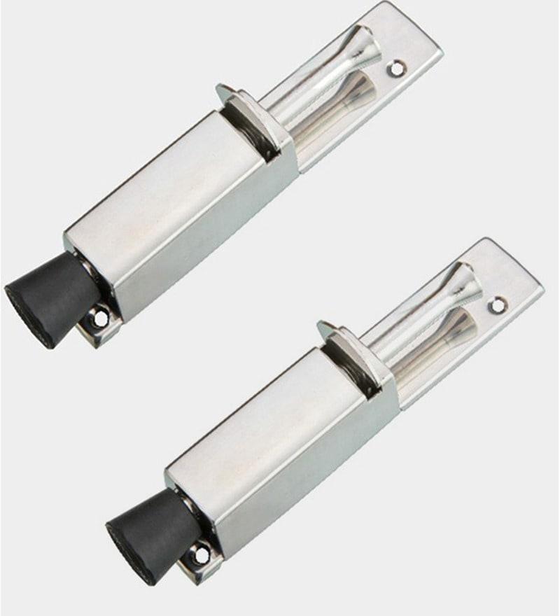 Doyours Matt Stainless Steel 6 Inch Door Stopper Set
