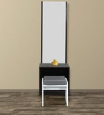 Dressing Table with Stool in Wenge Finish
