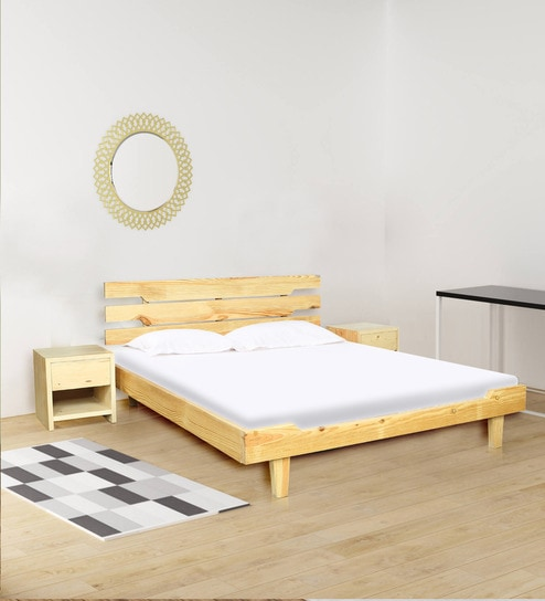 Buy Dream Catcher Queen Size Bed With 40 Bedside Tables By Komfort Unique Dream Catchers Furniture