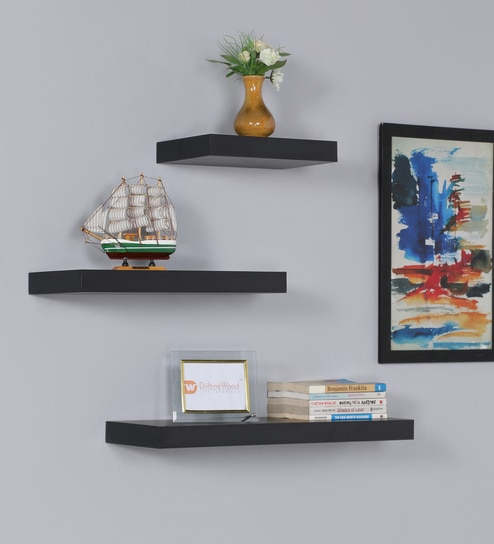 """Great Rack Display Showcase! LED Color Changing Lights 96"""" Floating Wall Shelf"""
