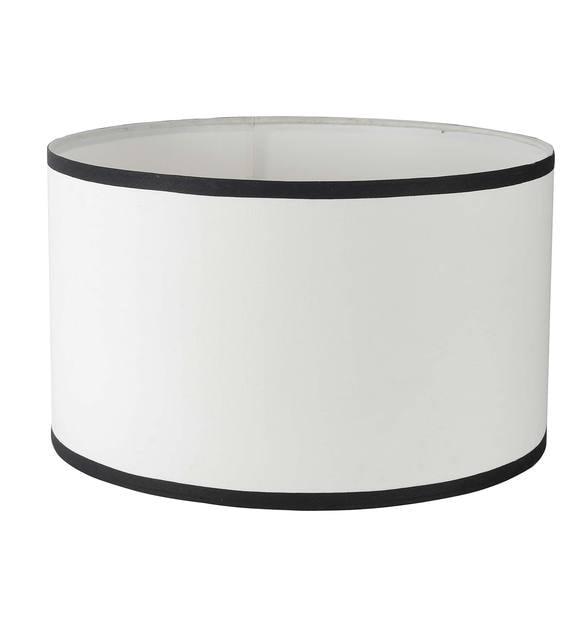 Drum Shape White Cotton Lamp Shade, Chandelier Lamp Shades Drum Shape