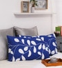 Dreamscape Blue Cotton 27 x 17 Inch Pillow Cover - Set of 2