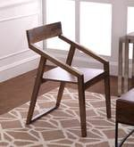 Dulwich Solid Wood Arm Chair in Natural Finish