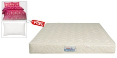 Dual Comfort KING Size (78x72) 6 Inches Thick Rebonded Foam Mattress (FREE Bedsheet, Pillow & Pillow cover)