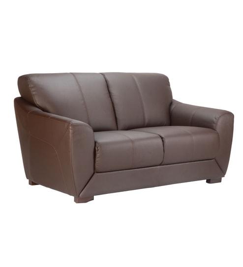 Durian Compact Leather Sofa Set