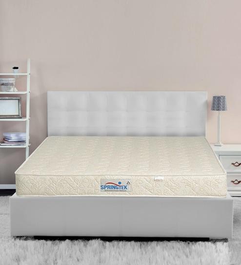 Buy Dual Comfort King Bed 78x72x6 Inch Foam Mattress Free Pillow