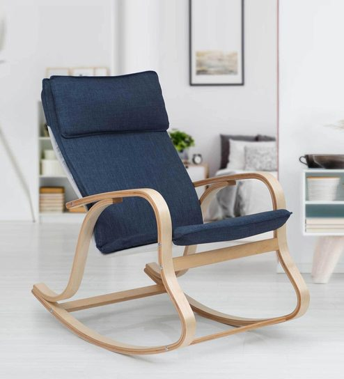 Magnificent Duncan Accent Chair In Blue Colour By Evok Ibusinesslaw Wood Chair Design Ideas Ibusinesslaworg