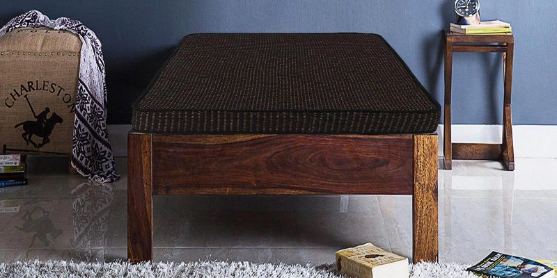 Dual Sense (75x36) 4 Inches Thick Single Size Foam Mattress by Sleep Sutraa