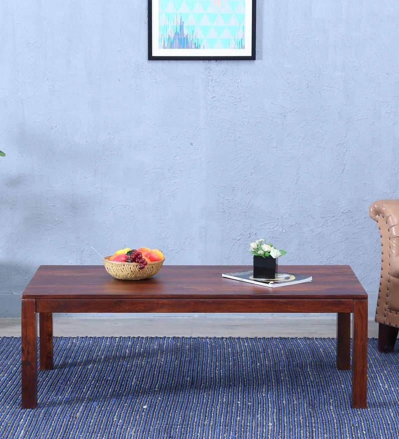 Duvall Large Coffee Table in Provincial Teak Finish by Woodsworth
