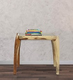 Dvina Coffee Table in Natural Sheesham Finish