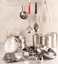 Dynore Silver Canister - Set Of 10 - 1365163