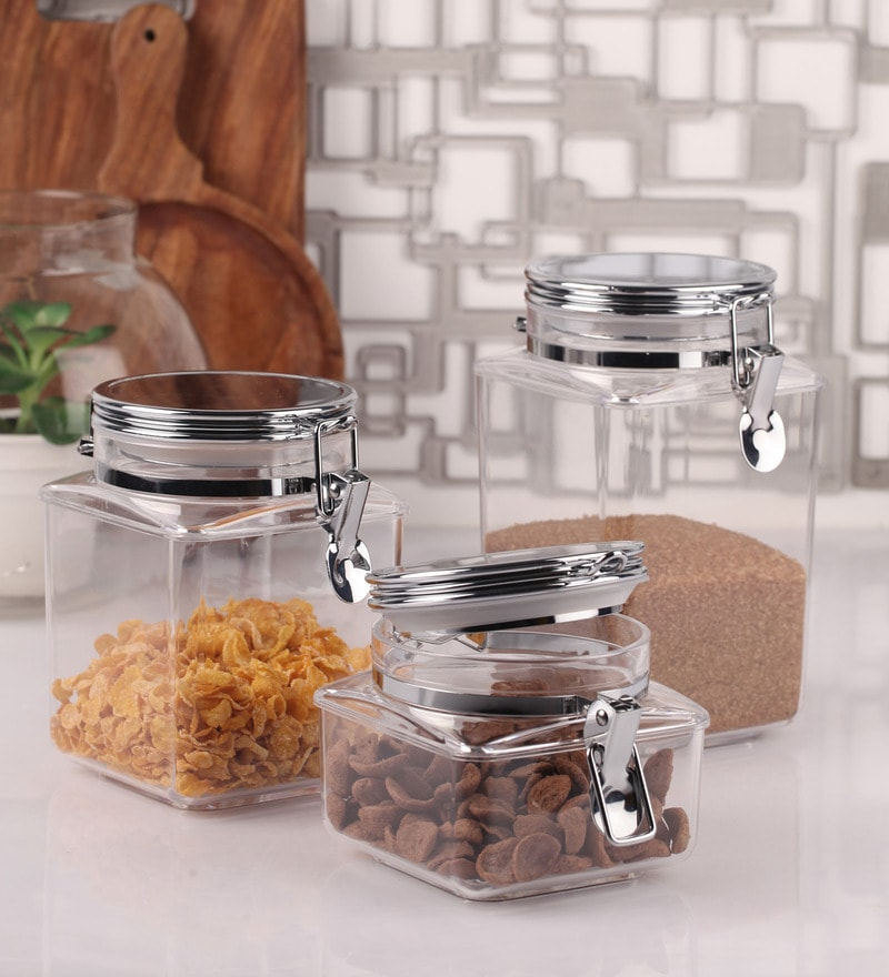 Acrylic Food Storage Containers Part - 31: Click To Zoom In/Out