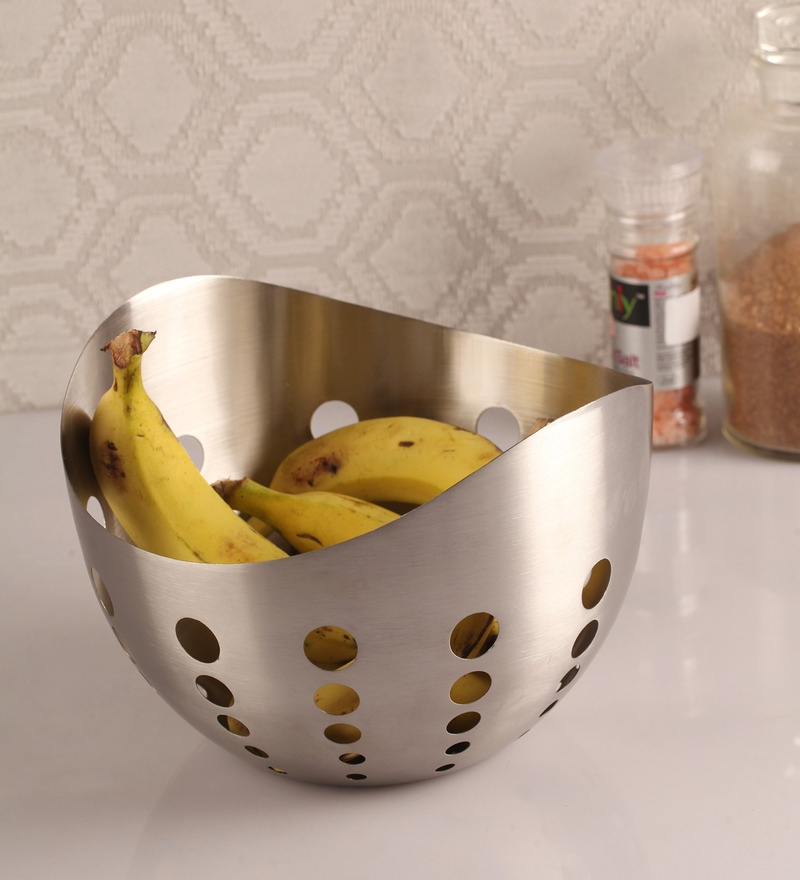 Dynore Stainless Steel Snack & Fruit Bowls