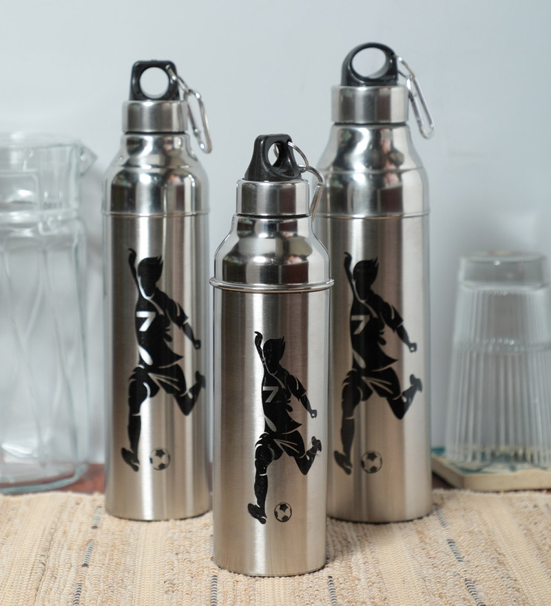 cd4d9b0bd1b Buy Dynore Stainless Steel Insulated Hot and Cold Water Bottle - Set ...