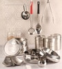 Dynore Silver Canister - Set of 10