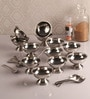 Dynore Stainless Steel Ice Cream Set - Set of 12