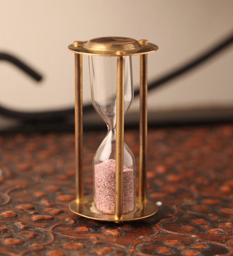Multicolor Brass 30 Seconds Sand Timer by E-Studio