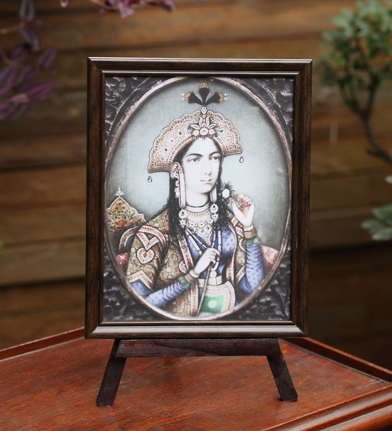Multicolor Wooden Imperial Frame by E-Studio
