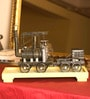 Multicolor Metal Antique Train Scale Model by E-Studio
