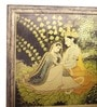 E-Studio Radha Krishna Metal 5 x 5 x 35 Inch Framed Painting