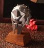 E-Studio Multicolor Metal Table Medieval Gladiator Helmet Collectible