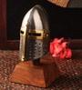 E-Studio Multicolor Metal Table Medieval Knight Helmet Collectible