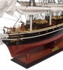 Multicolour Solid Wood Cutty Sark Painted Ship Collectible by E-Studio