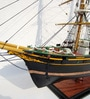 Multicolour Solid Wood Sigyn Ship Collectible by E-Studio