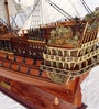 Multicolour Solid Wood Soleil Royal Ship Collectible by E-Studio