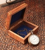 Multicolor Metal & Glass J W Benson London Pocket Watch with Box by E-Studio
