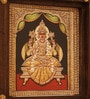 Veera Laxmi  ON CANVAS AND WOODEN FRAME 11 x 1.5 x 11 Inch Framed Art Print by E-Studio