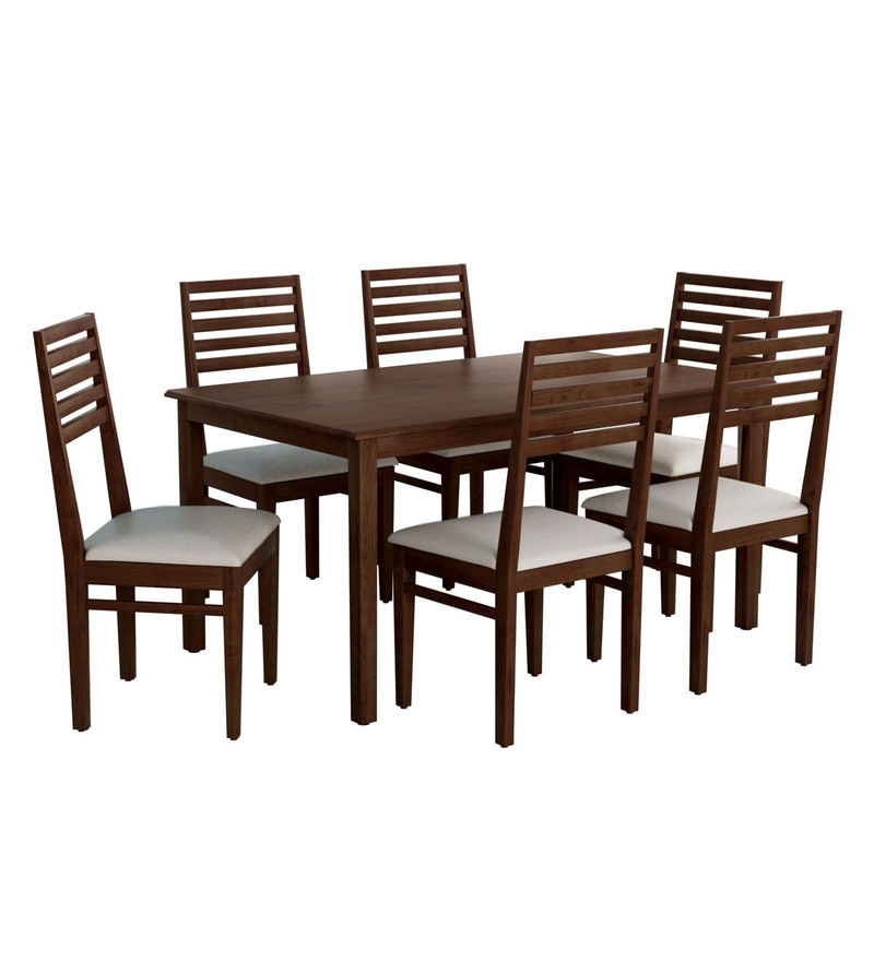 dd404bdc68 Buy Eastern Six Seater Dining Set by Evok Online - Six Seater Dining ...