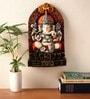 Multicolour Polyresin Ganesha Arch Showpiece by Earth