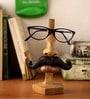 Earth Multicolour Polyresin Moustache Man Spectacle Holder