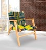 Easy Chair in Natural Finish by Inliving