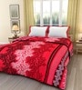 eCraftIndia Multicolor Poly Cotton Abstract 84 x 54 Inch Single Bed Reversible AC Blanket