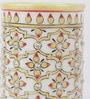 eCraftindia Multicolour Makrana Marble Decorative Pen Stand