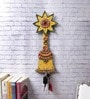 Multicolour Papier Mache Bell Key Holder by eCraftIndia