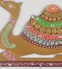 Multicolour Papier Mache Camel Key Holder by eCraftIndia